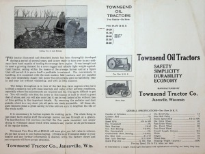 Trojan On Unit Tractor- Partial book