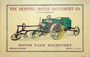 The Denning Motor Implement Co. Tractor Catalog 1913