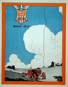 U.S. Tractor & Machinery Co. Uncle Sam 20-30 Tractor Bulletin