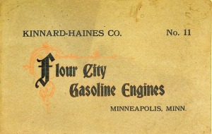 Kinnard-Hains Co. No.11  Flour City Gasoline Engines