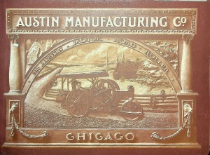 The Austin Motor road Roller Catalogue D