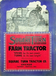 1917 Square Turn No Clutch To Slip No Gears to Strip Farm tractor Catalog