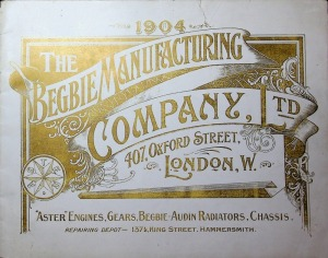 The Begbie Manufacturing Company Illustrated Catalogue