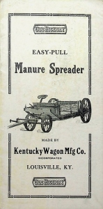 Old Hickory Kentucky Wagon Mfg Foldout