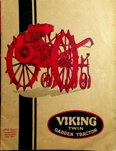 Allied Motors Corporation Viking Twin Garden Tractors