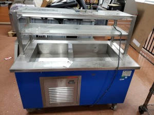 COLORPOINT 50-CFM-EB REFRIGERATED SALAD BAR BUFFET TABLE
