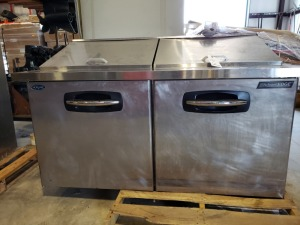 Norlake Stainless Prep Table