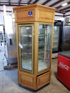 McCall 6.5 FT Rotating Refrigerated Display Case