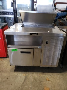 3 FT Delfield Stainless  Prep Table