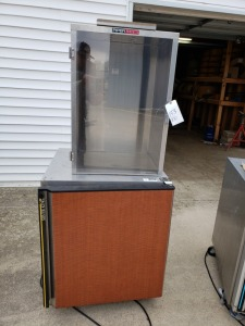 (1) Silver King Commercial Freezer (1) Piper Holding Cabinet
