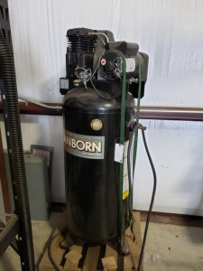 Sanborn Cast Iron Air Compressor 60 Gallon