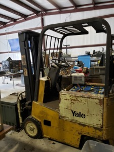 Yale Fork Lift Type E **Read Description