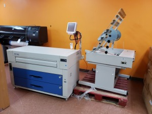 KIP 5000 Wide Format Printer / Scanner with Auto-Stacker