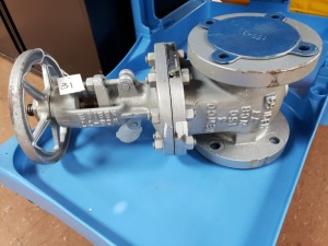 Newco Gate Valve - 3 In Carbon Steel NEW