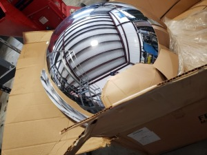 (1) Dome Safety Mirror