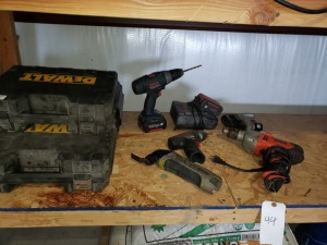 Power Tools Lot - Bosch/Black And Decker