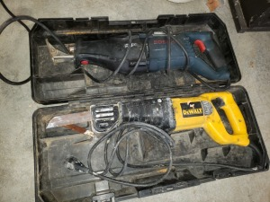 Dewalt And Bosch Sawzall Lot