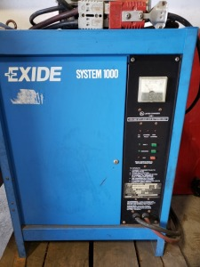 Exide ES1-12-550-B System 1000 24 volt Battery Charger 1ph 88 amp Fork Lift