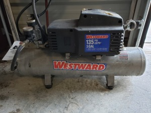 Wesward 135 PSI 3 Gal Air Compressor Lot