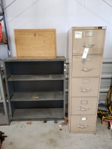 File Cabinet /Shelf Lot