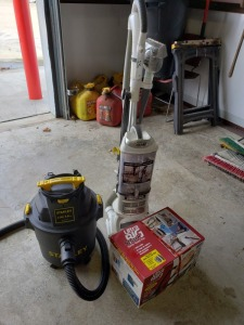 Shark Vacuums/Shop Vac Lot