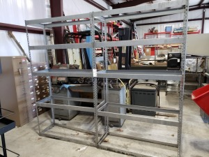 (2) Heavy Duty Racks 7FT x 4 FT