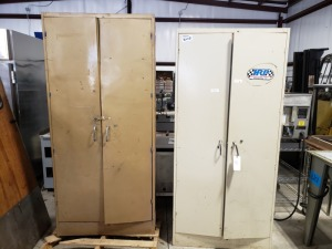 (2) 6FT Heavy Duty Cabinets