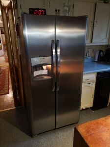 Frigidaire Side by Side Stainless