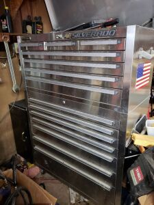 Steel Glide Tool Box 5ft x 4 ft