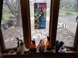 Stained Glass And Decorative Lamps Lot