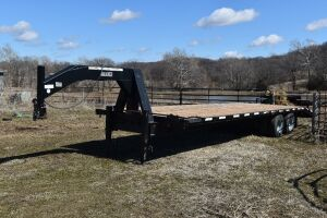 2003 Kiefer Built 25 + 5 Gooseneck Trailer