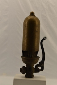 "Powell 4"" Brass 3 Chime Whistle"