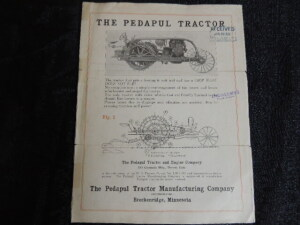 The Pedapul Tractor Circular