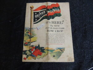 The New Oliver Hart - Parr Row Crop Mailer