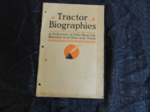 IHC Tractor Biographies Booklet