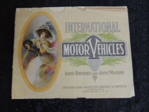 IHC Motor Vehicles Auto Buggies And Auto Wagons Catalog 61