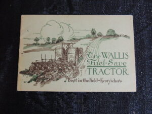 The Wallis Fuel - Save Tractor Catalog
