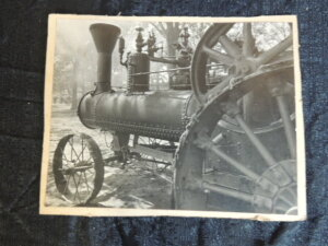 Early Large Steam Engine Photo
