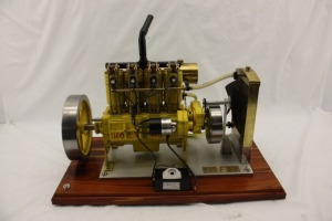 Holt 75 Scale Model Engine
