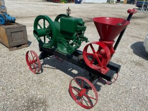 McCormick-Deering 3hp on Cart w/Burr mill