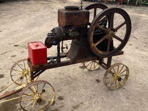 1916 Galloway 7hp Horse Collar Engine