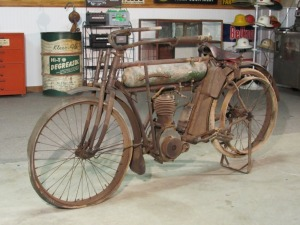1912 American 1 Cylinder Motorcycle