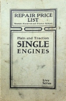 Port Huron Engine & Threshing Co., Repair List for Plain and Traction Single Engines, 1920 Edition