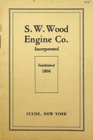 S.W.Wood Engine Co., Engine Catalog, Tractio, Portable and Skid Engines Iron and Brass Castings