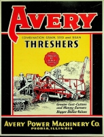 Avery Combination Grain, Seed, and Bean Threshers