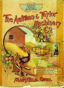 1898 Aultman and Taylor Machinery Catalog