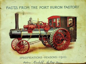 1910 Facts from the Port Huron Factory
