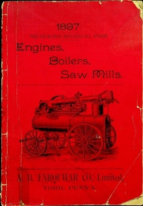 1897 A.B. Faarquhar Engines, Boilers, Saw Mills Catalog