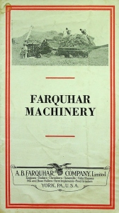 Farquhar Machinery Booklet