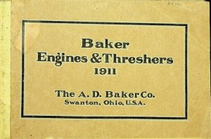 1911 Baker Engines and Threshers Catalog No. 14